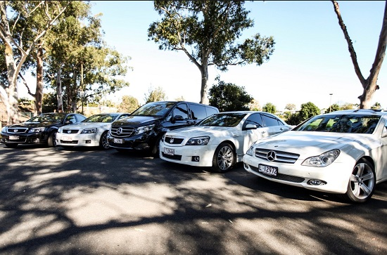 Blue Line Limo hire fleet